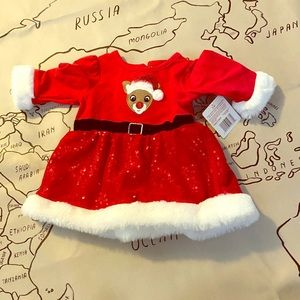 🎅🏽 👶🏼 Adorable 3 month nwt Holiday dress